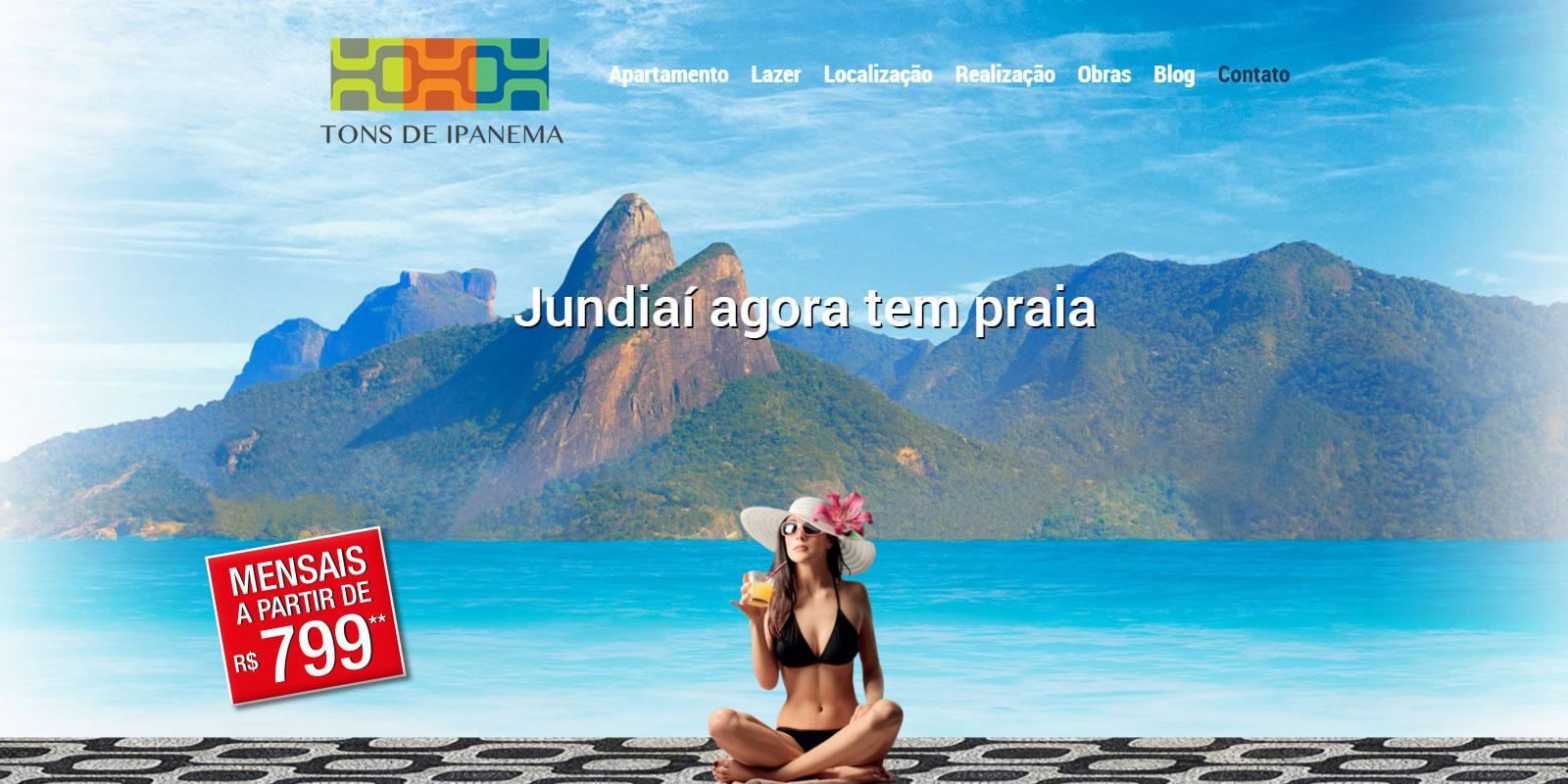 Tons de Ipanema - Apartamentos em Jundiaí Prontos p/ Morar