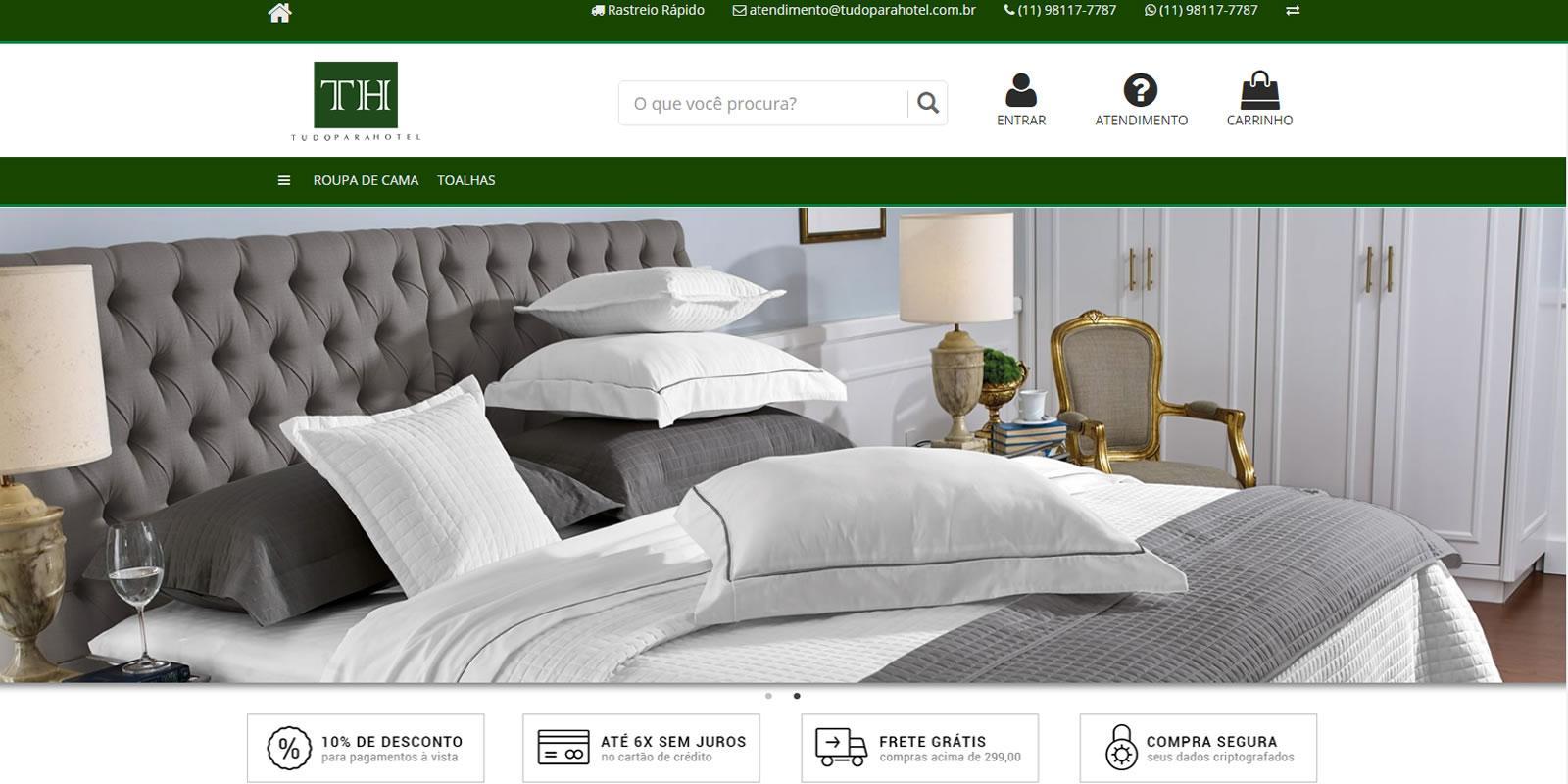 Tudo para Hotel - Comércio de produtos para Hoteis